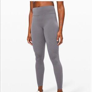 Lululemon reveal tight mesh stripe leggings
